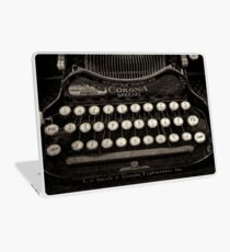 Vintage Typewriter Keyboard Laptop Skin
