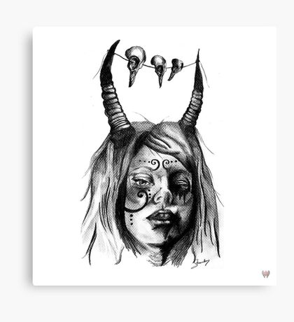 delightfully angry Canvas Print