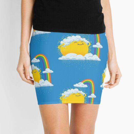 Rainy Day Mini Skirt