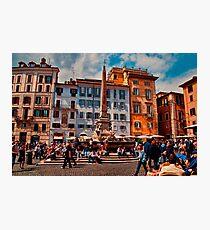 ROME - Pantheon Square... Photographic Print