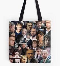 Martin Freeman Collage Tote Bag