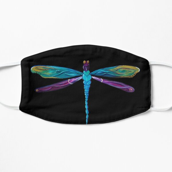 Painted Dragonfly Flat Mask