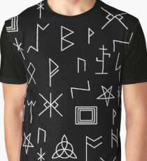 Runes Of Mystery T-shirt graphique