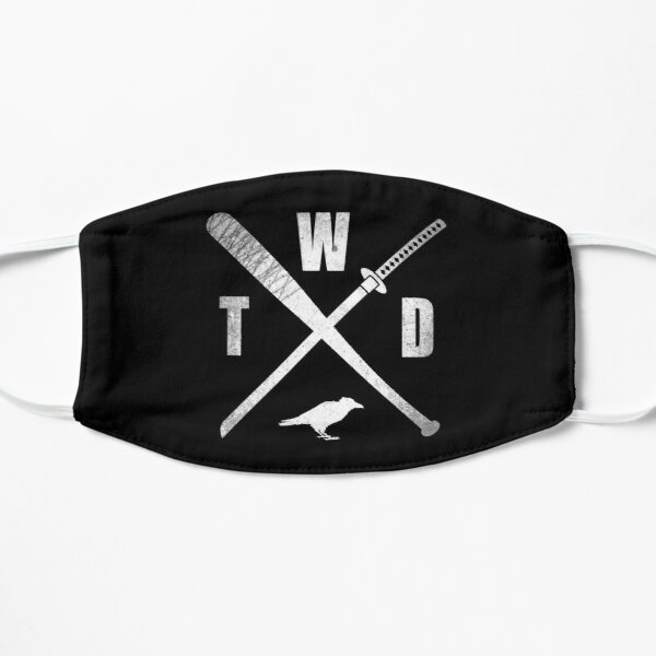 TWD CROSSED WEAPONS Flat Mask
