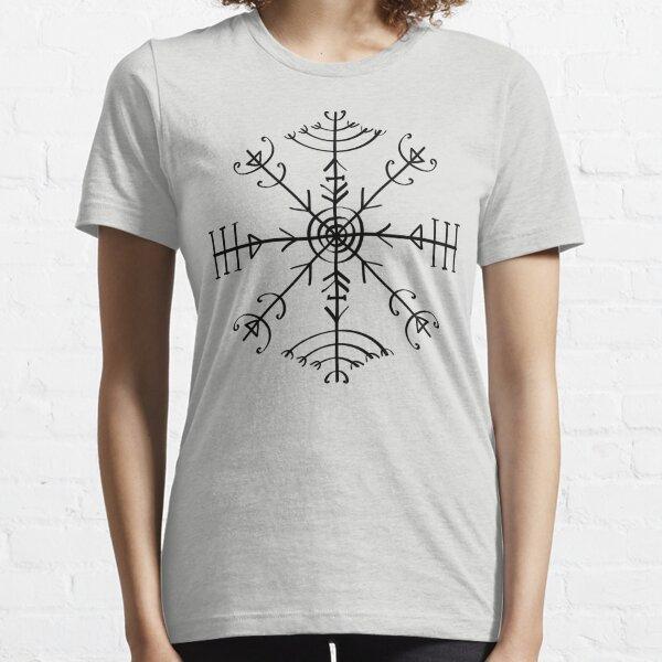 Veldismagn, Icelandic Magical Binding Rune, Protection, Lucky Charm Essential T-Shirt