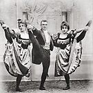 3. Vintage Can-can dancers: Threesome? by Ian A. Hawkins