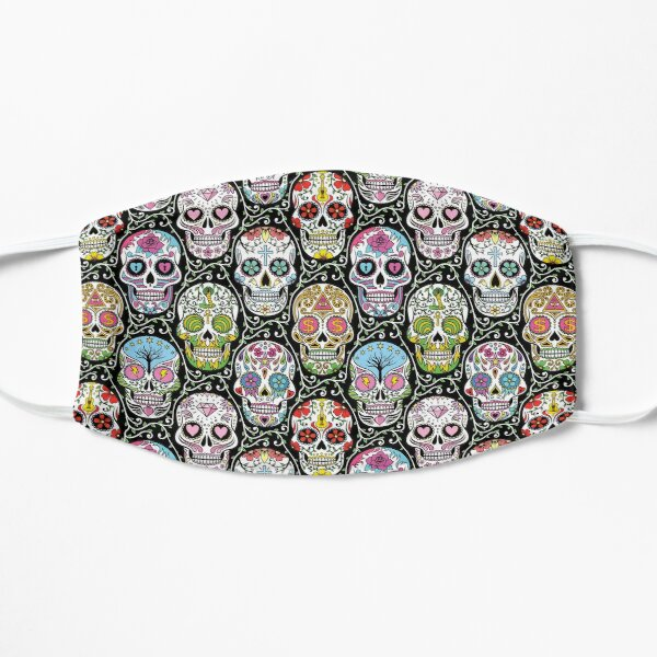Mexican Skull Pattern Mask