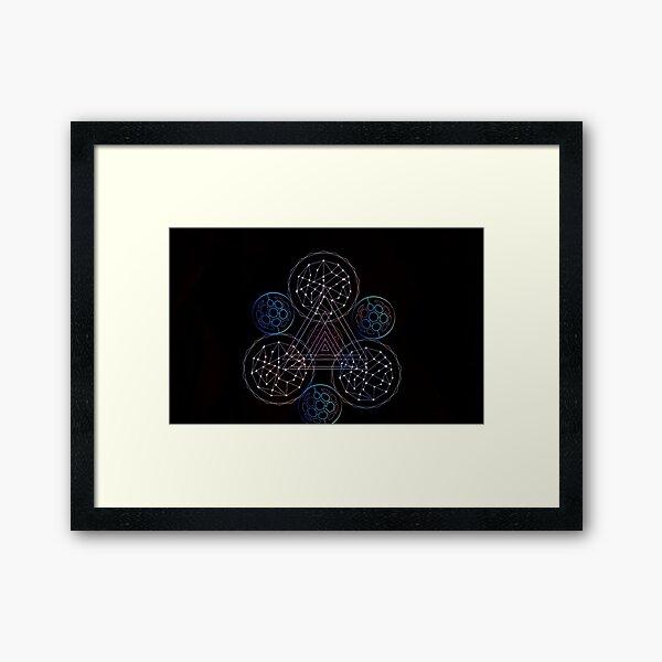 cosmic keywork Framed Art Print