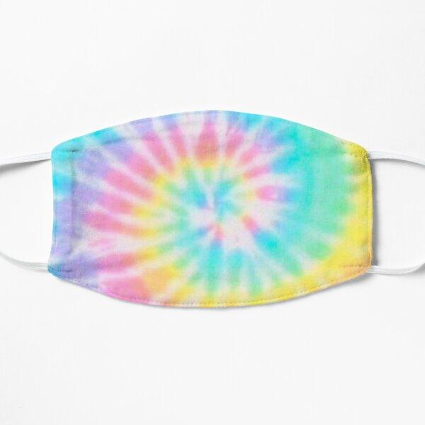 Pastel Rainbow Tie Dye Pattern Mask