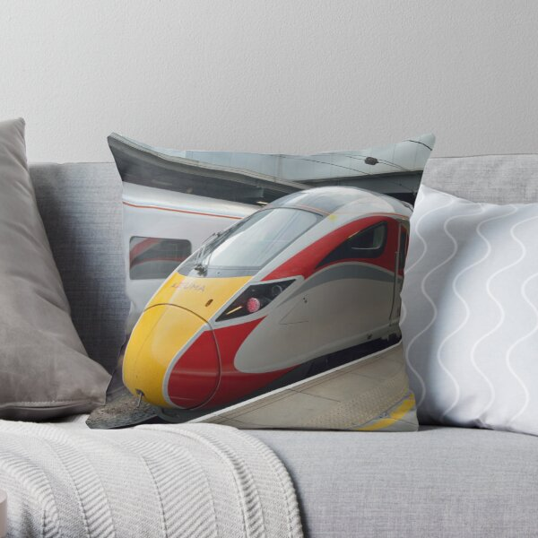 London North Eastern Railway Class 800 Azuma Throw Pillow