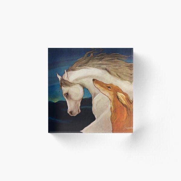 Kindred Spirits Acrylic Block