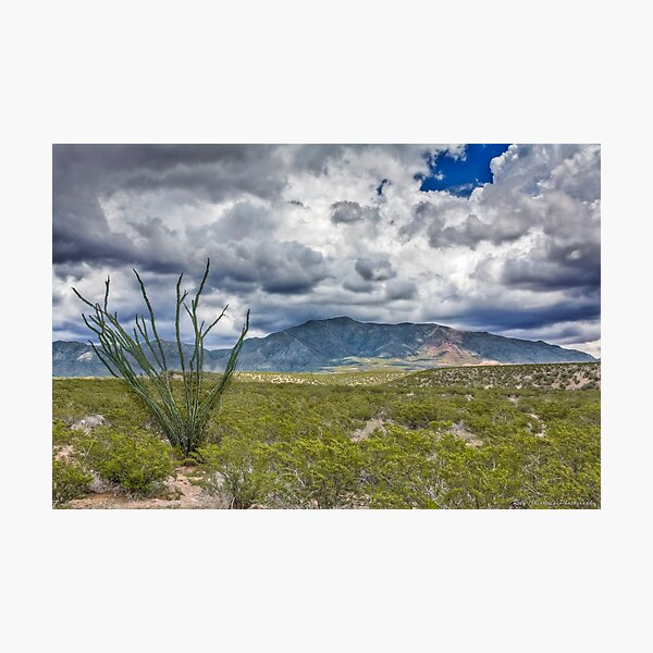 North Franklin Mountain Photographic Print