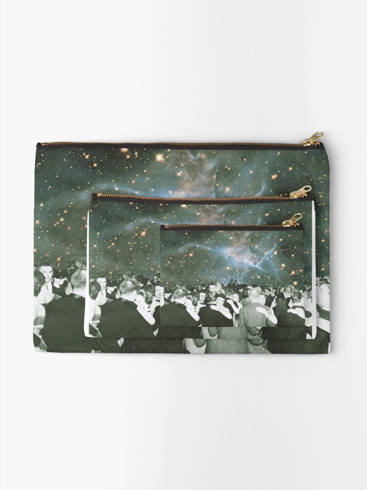 Alternate view of Dancing under the stars Zipper Pouch
