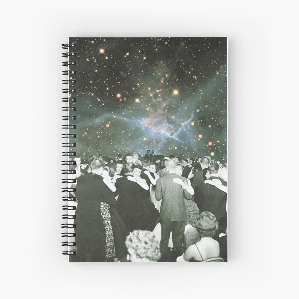 Dancing under the stars Spiral Notebook