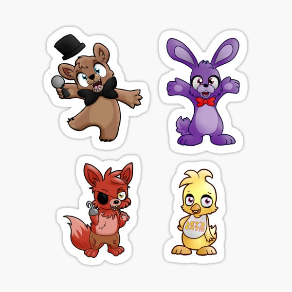 FNAF Stickers Sticker