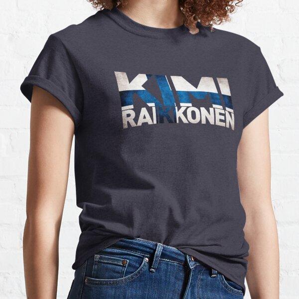 Kimi Raikkonen - Finnish Flag Classic T-Shirt