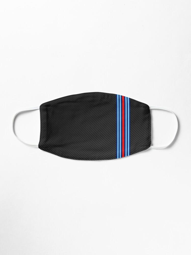 Alternate view of Carbon Fiber Racing Stripes 15 Mask