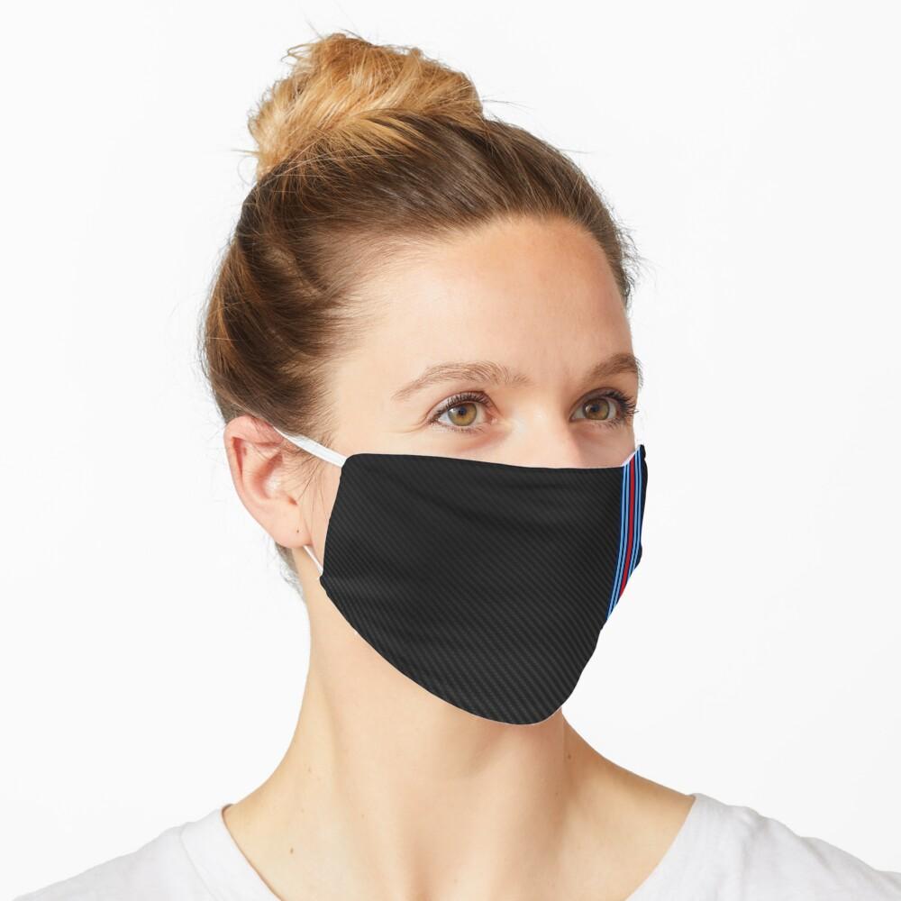 Carbon Fiber Racing Stripes 15 Mask