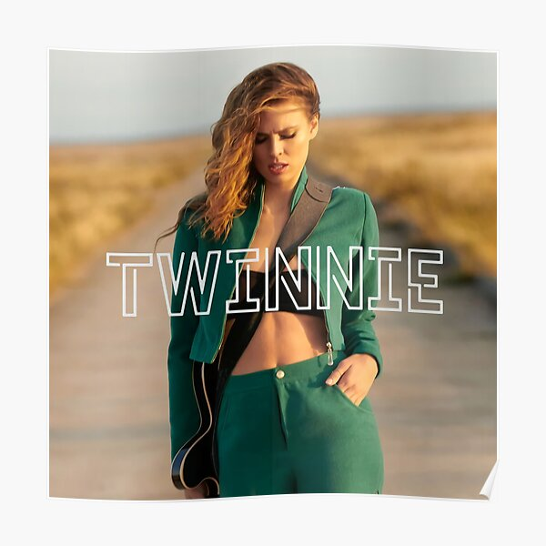 Twinnie Green Clothes Poster