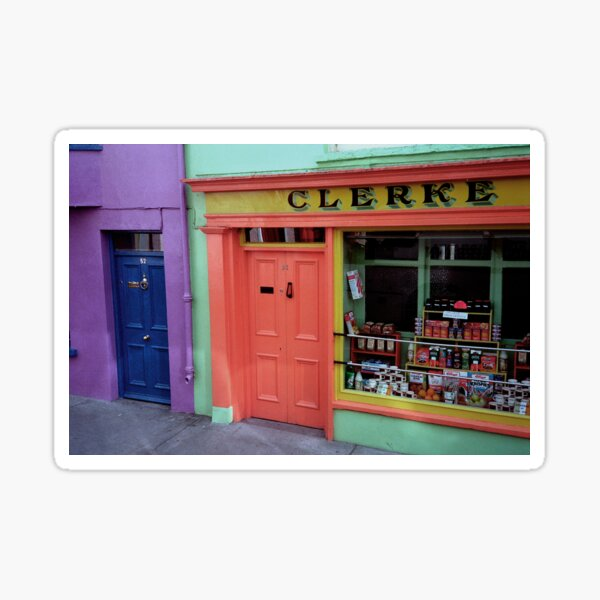 Traditional grocery store in Skibbereen, West Cork Sticker