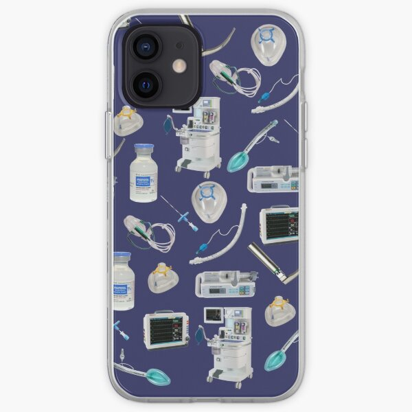 Tools of the Trade SPACE BLUE Anesthesia / Anaesthesia iPhone Soft Case