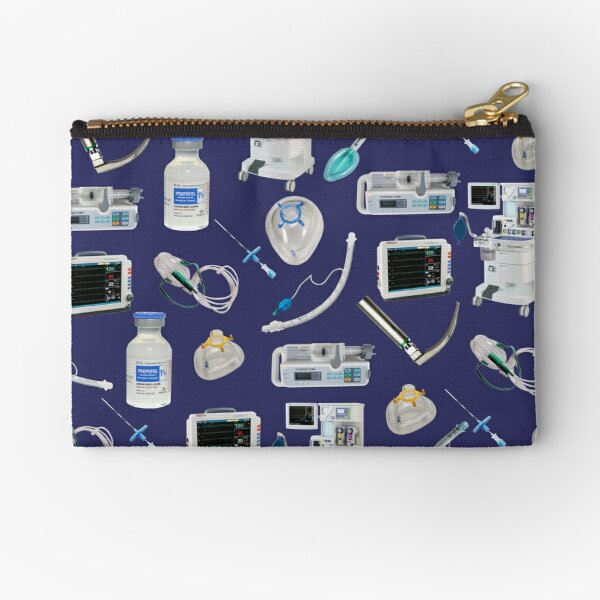 Tools of the Trade SPACE BLUE Anesthesia / Anaesthesia Zipper Pouch