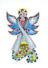 Brain Cancer Grey Ribbon Angel by Lisafrancesjudd