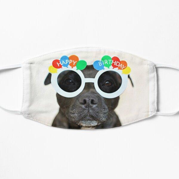 Happy Birthday Flat Mask