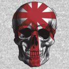 Red Light Skull by Luiz  Penze