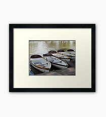 Stratford upon Avon boats Framed Print