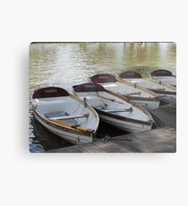 Stratford upon Avon boats Metal Print