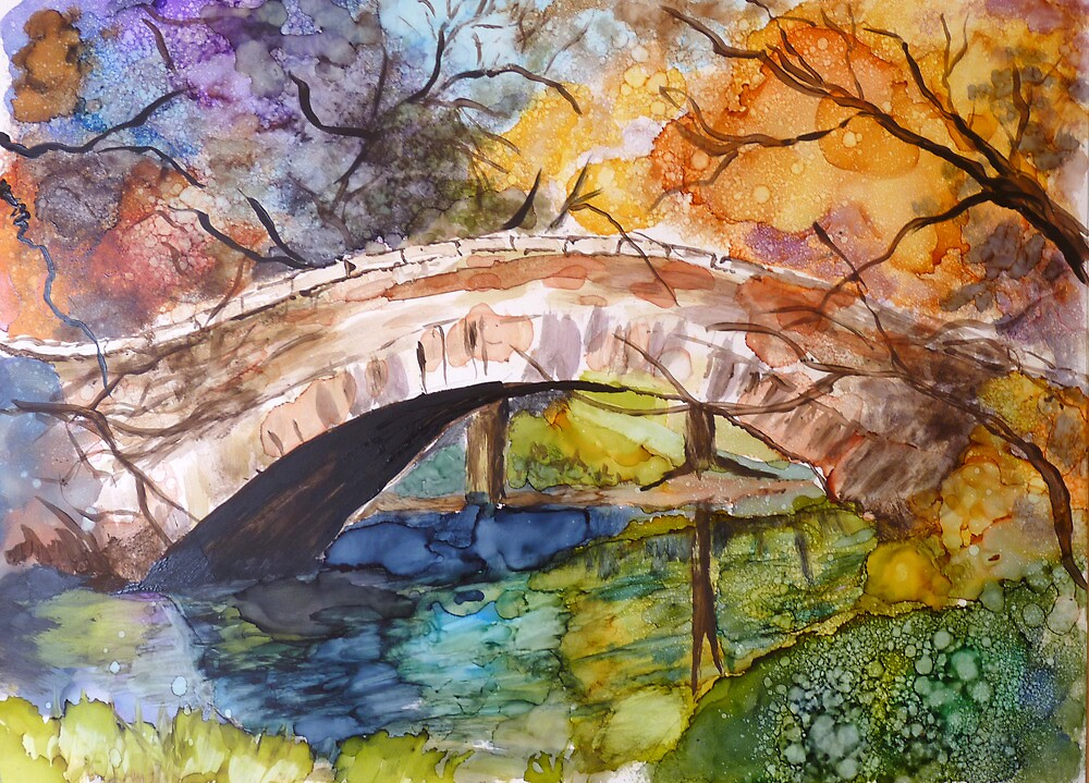 Mill Pond Bridge by twopoots