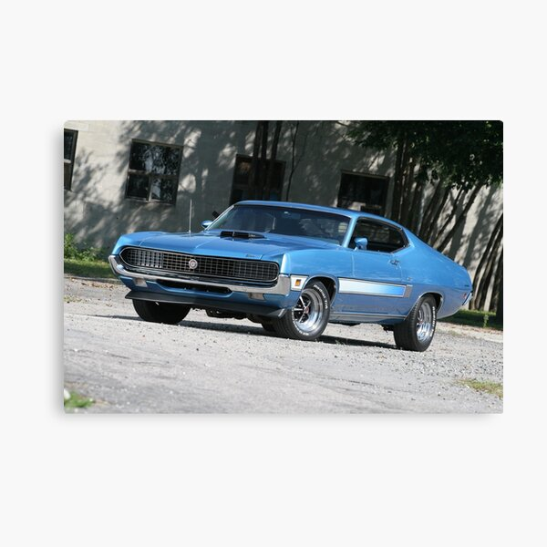 1970 Ford Torino GT Canvas Print
