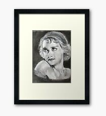 Betty Davis...young Framed Print
