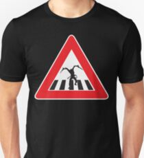 Caution - Necromorph Crossing T-Shirt