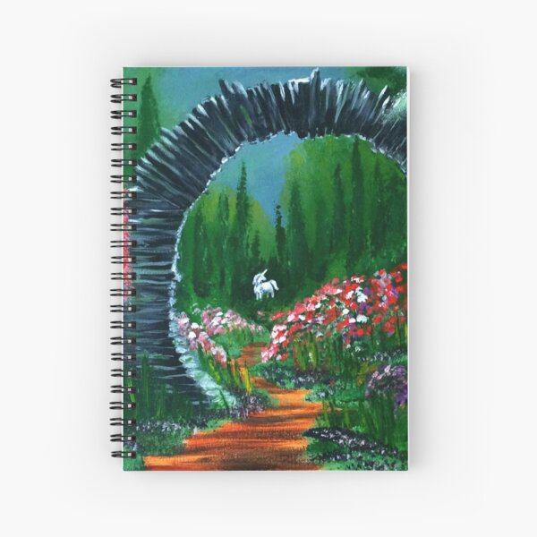 Unicorn Grove Spiral Notebook
