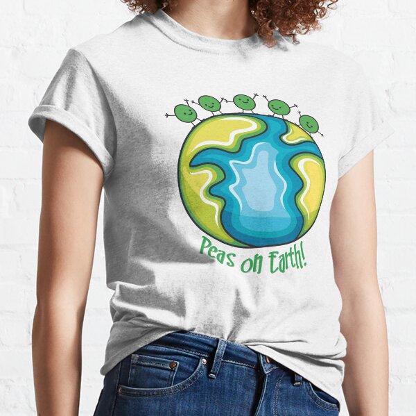 Peas on Earth Camiseta clásica