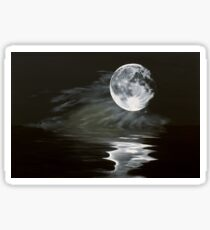 the fullest moon Sticker