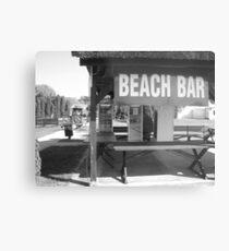 Beach Bar Metal Print