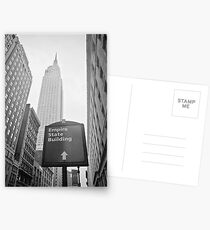 The Empire State Building, New York City Postcards