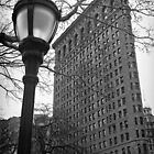 The Flatiron Building, New York City by Ilker Goksen