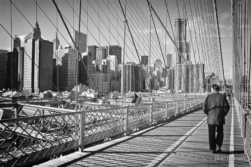 New York City by Ilker Goksen