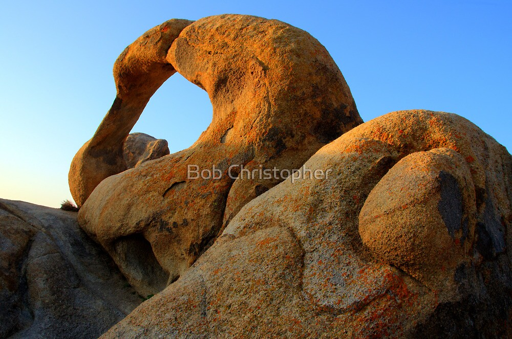 Mobius Arch California by Bob Christopher
