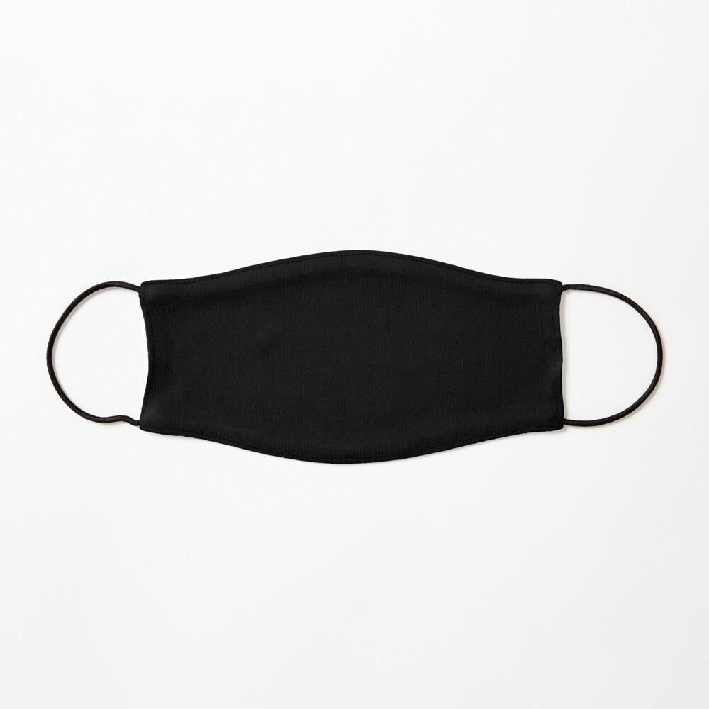 Plain Black Mask