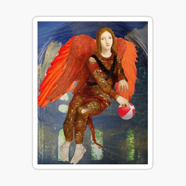 The angel of Margomoreau Sticker