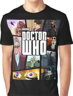 Doctor Who Series Nine Graphic T-Shirt