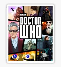 Doctor Who Series Nine Sticker