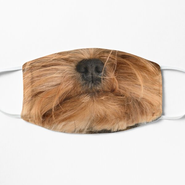 Cute Yorkie Yorkshire Terrier Dog Mask Mask
