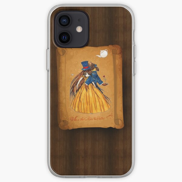 Who is the Mad Hatter ? Beauty and the Beast iPhone Soft Case