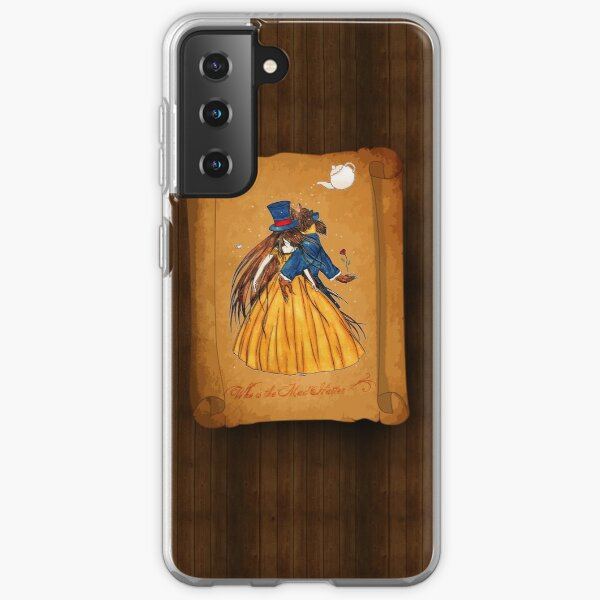 Who is the Mad Hatter ? Beauty and the Beast Samsung Galaxy Soft Case